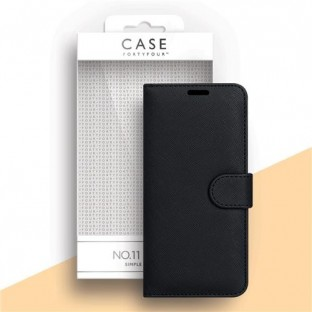 Case 44 foldable case with credit card holder for the Samsung Galaxy A21s Black (CFFCA0447)