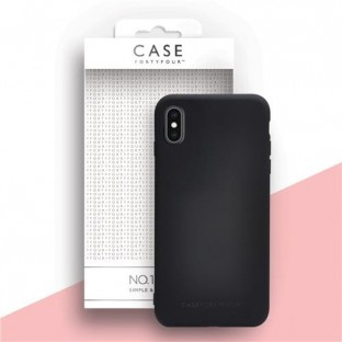 Case 44 Silikon Backcover für iPhone XS Max Schwarz (CFFCA0316)