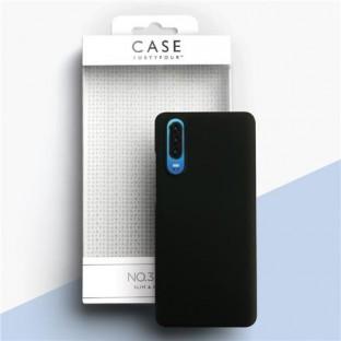 Case 44 Backcover ultra dünn Schwarz für Huawei P30 (CFFCA0190)