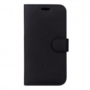 Case 44 faltbare Hülle mit Kreditkarten-Halterung für das Huawei P30 Lite Schwarz (CFFCA0188)