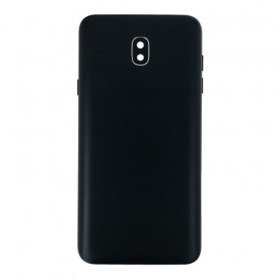 Samsung Galaxy J7 (2018) back cover battery cover back shell black with camera lens