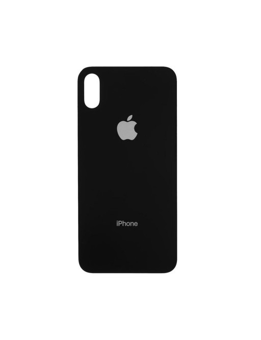 iPhone X Backcover Akkudeckel Rückschale Schwarz / Space Grey