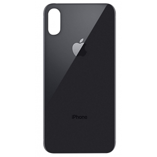 iPhone Xs Backcover Akkudeckel Rückschale Schwarz / Space Grey (A1920, A2097, A2098, A2100)