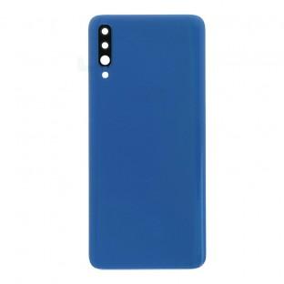 Samsung Galaxy A70 Coque arrière de protection de la batterie Coque arrière bleue avec objectif de caméra et adhésif