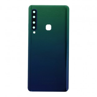 Samsung Galaxy A9 (2018) back cover battery cover back shell green with camera lens and adhesive