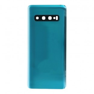 Samsung Galaxy S10 Backcover Akkudeckel Rückschale Grün mit Kamera Linse und Kleber