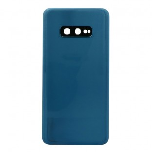 Samsung Galaxy S10e Backcover Battery Cover Back Shell Blue with Camera Lens and Adhesive