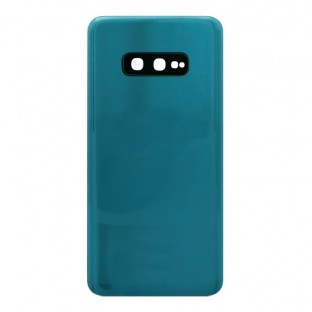 Samsung Galaxy S10e Backcover Akkudeckel Rückschale Grün mit Kamera Linse und Kleber