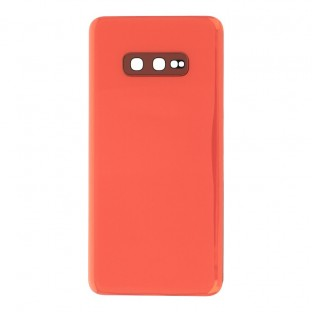 Samsung Galaxy S10e Backcover Battery Cover Back Shell Pink with Camera Lens and Adhesive