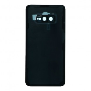 Samsung Galaxy S10e Backcover Akkudeckel Rückschale Schwarz mit Kamera Linse und Kleber