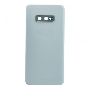 Samsung Galaxy S10e Backcover Battery Cover Back Shell White with Camera Lens and Adhesive