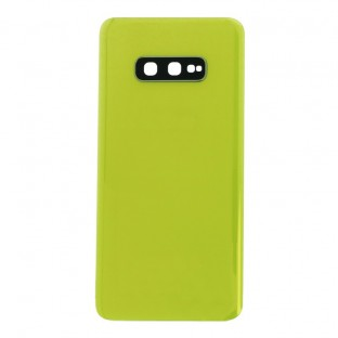 Samsung Galaxy S10e Backcover Battery Cover Back Shell Yellow with Camera Lens and Adhesive