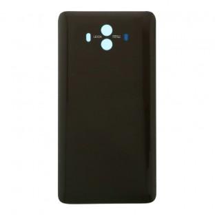 Huawei Mate 10 Backcover Akkudeckel Rückschale Schwarz-Braun mit Kleber