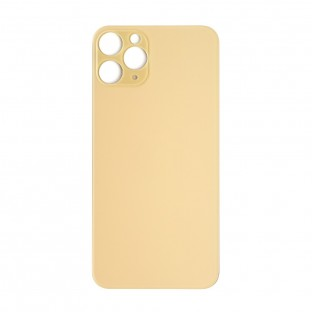 """iPhone 11 Pro Backcover Battery Cover Back Shell Gold """"Big Hole"""" (A2160, A2217, A2215)"""