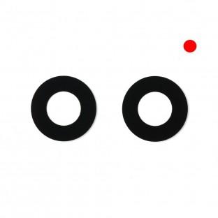 iPhone Xr Kamera Linse für Gehäuse Backcover Rot