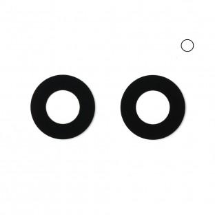 iPhone Xr Kamera Linse für Gehäuse Backcover Weiss (A1984, A2105, A2106, A2107)