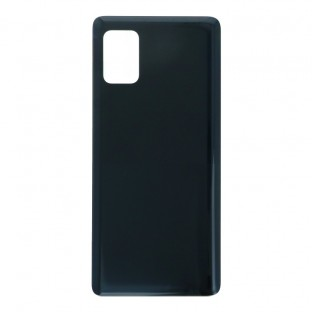 Samsung Galaxy A51 5G Backcover Akkudeckel Rückschale Schwarz mit Kleber