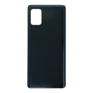 Samsung Galaxy A51 5G Coque arrière pour batterie Coque arrière noire avec adhésif