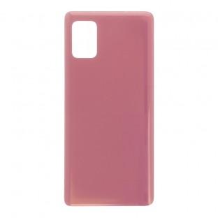 Samsung Galaxy A51 5G Backcover Akkudeckel Rückschale Pink mit Kleber