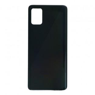 Samsung Galaxy A51 Backcover Akkudeckel Rückschale Schwarz mit Kleber
