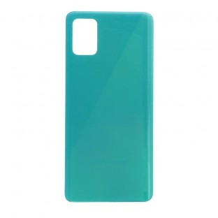 Samsung Galaxy A51 Backcover Akkudeckel Rückschale Blau mit Kleber