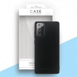 Case 44 Silicone Backcover for Samsung Galaxy Note 20 Black (CFFCA0486)
