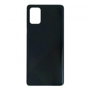 Samsung Galaxy A71 Backcover Akkudeckel Rückschale Schwarz mit Kleber