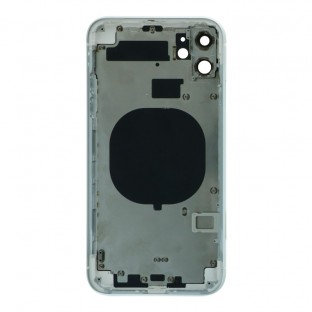 iPhone 11 Backcover / Backshell with frame and small parts pre-assembled White (A2111, A2221, A2223)