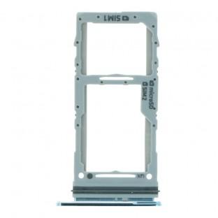 Samsung Galaxy S20 Ultra / S20 Plus Dual Sim Tray Karten Schlitten Adapter Blau