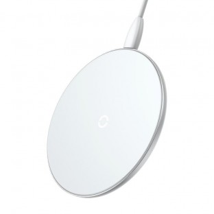 Baseus 10W Qi Wireless Charger (Fast Charge) White