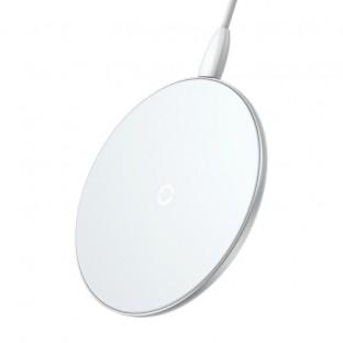 Baseus 10W Qi Wireless Ladegerät (Fast Charge) Weiss