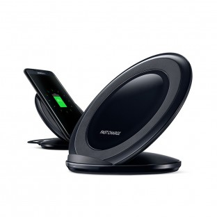 S7 Qi Wireless Ladegerät (Fast Charge) Schwarz