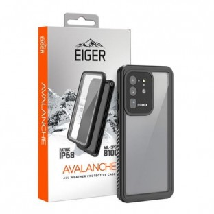 "Eiger Samsung Galaxy S20 Ultra Outdoor Cover ""Avalanche"" Schwarz (EGCA00214)"