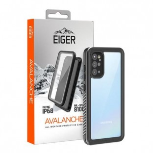 "Eiger Samsung Galaxy S20 Plus Outdoor Cover ""Avalanche"" Schwarz (EGCA00212)"