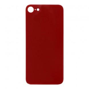 "iPhone SE (2020) Backcover Akkudeckel Rückschale Rot ""Big Hole"" (A2275, A2298, A2296)"