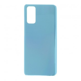 Samsung Galaxy S20 (5G) Backcover Akkudeckel Rückschale Blau mit Kleber