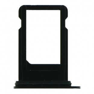 iPhone SE (2020) Sim Tray Karten Schlitten Adapter Schwarz (A2275, A2298, A2296)
