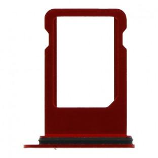 iPhone SE (2020) Sim Tray Karten Schlitten Adapter Rot (A2275, A2298, A2296)