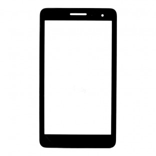 Glas mit Rahmen für Huawei MediaPad T1 7.0 Schwarz