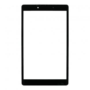 Glas mit Rahmen für Samsung Galaxy Tab A 8.0 2019 (WiFi) Schwarz