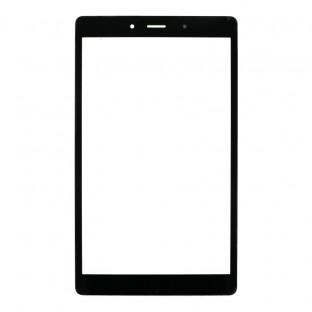 Glas mit Rahmen für Samsung Galaxy Tab A 8.0 2019 (3G) Schwarz