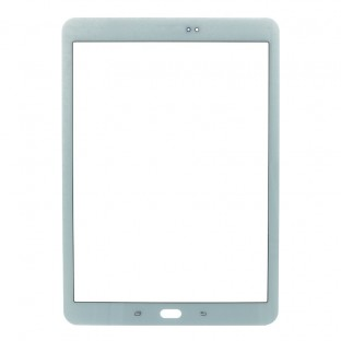 Glass with frame for Samsung Galaxy Tab S2 9.7 White
