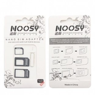 Adapter for Nano and Micro Sim Card 4 in 1