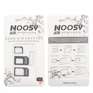 Adattatore per Nano e Micro Sim Card 4 in 1