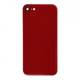 iPhone SE (2020) Backcover / Rückschale mit Rahmen vormontiert Rot (A2275, A2298, A2296)