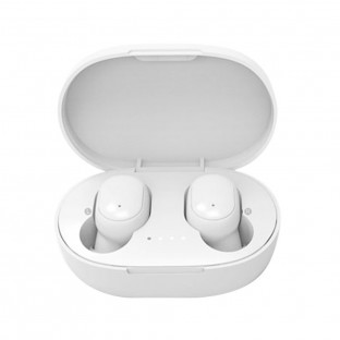 Bluetooth In-Ear Headphones with Charging Case White