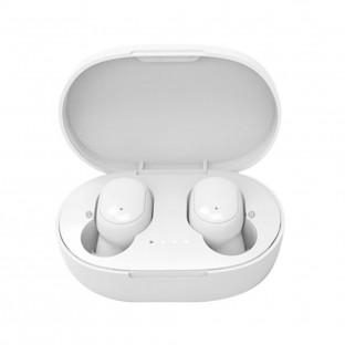 Écouteurs intra-auriculaires Bluetooth avec étui de chargement blanc