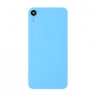 iPhone Xr Back Cover Battery Cover Back Cover with Camera Lens Blue (A1984, A2105, A2106, A2107)