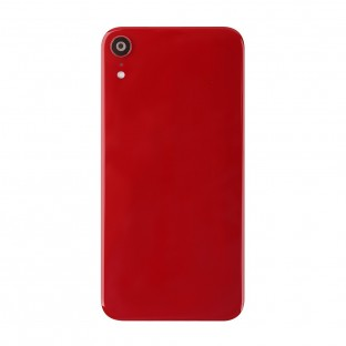 iPhone Xr Back Cover Battery Cover Back Cover with Camera Lens Red (A1984, A2105, A2106, A2107)