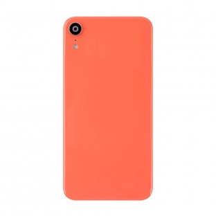 iPhone Xr Back Cover Battery Cover Back Cover with Camera Lens Orange (A1984, A2105, A2106, A2107)